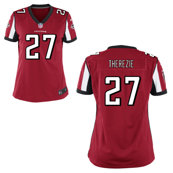Robenson Therezie Women's Nike Atlanta Falcons Limited Red Jersey